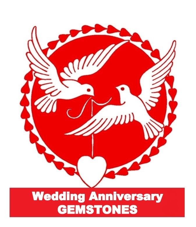 Wedding Anniversary Gifts By Year Gemstone : Wedding Anniversary