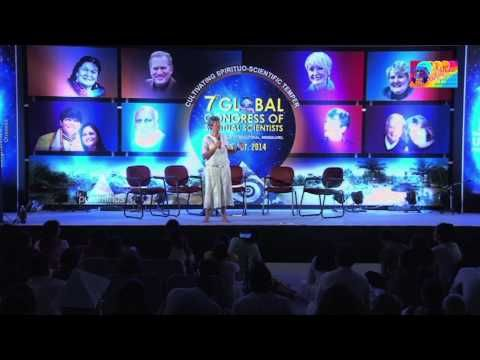 """Nina Brown in GCSS, India  For the first time in India, #NinaBrown introduced the new """" S.T.A.R. Philosophy"""" (Surrender, Trust, Allow, and Receive). She is an experienced consultant, an author and a leader in the field of #alternativemedicine, armed with neuro-sensory diagnostic tools. She devotes her enormous energies full time to her sacred spiritual mission."""