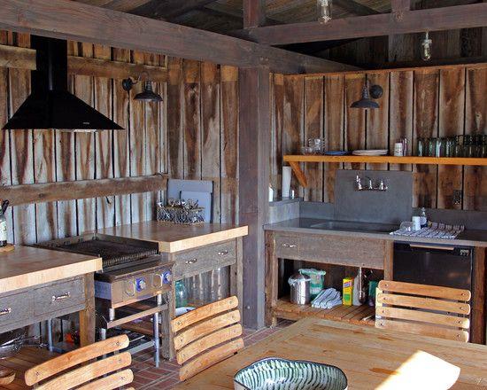 rustic kitchen designs | ... Designs : Rustic Outdoor ...