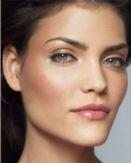 How to apply blush for a chiseled look.   http://thegardeningcook.com/apply-blush/