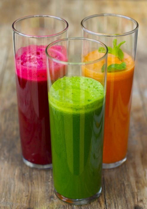 Smoothie Recipe for the Fitness Junkies - gorgeous colors!