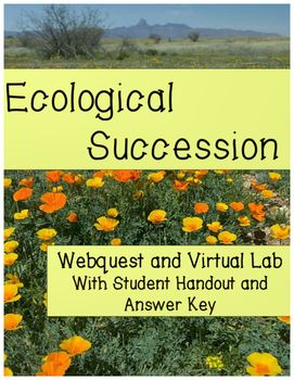 FUN!  NO-PREP!  KEEPS STUDENTS LEARNING AND ENGAGED! How does ecological succession result in changes in an ecosystem? Watch your students discover the impacts that succession has on an ecosystem with this fun, effective, and highly interactive web lesson!