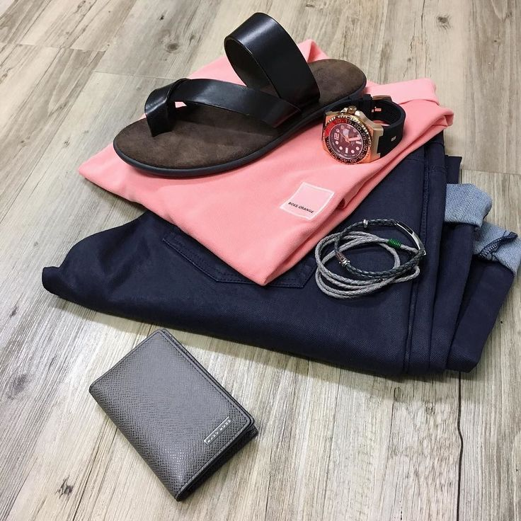 The details. For more pop in store. // NEW Hugo Boss Orange label polo shirt Lagerfeld jeans Brando leather slides (on sale) Hugo Boss wallet Otumm watch and Ted Baker leather cuffs.