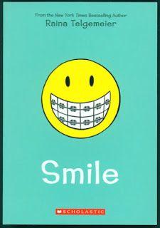Raina Telgemeier | Smile by Raina Telgemeier awesome book