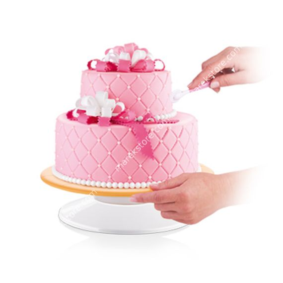 Obrotowa patera na tort - średnica 29 cm