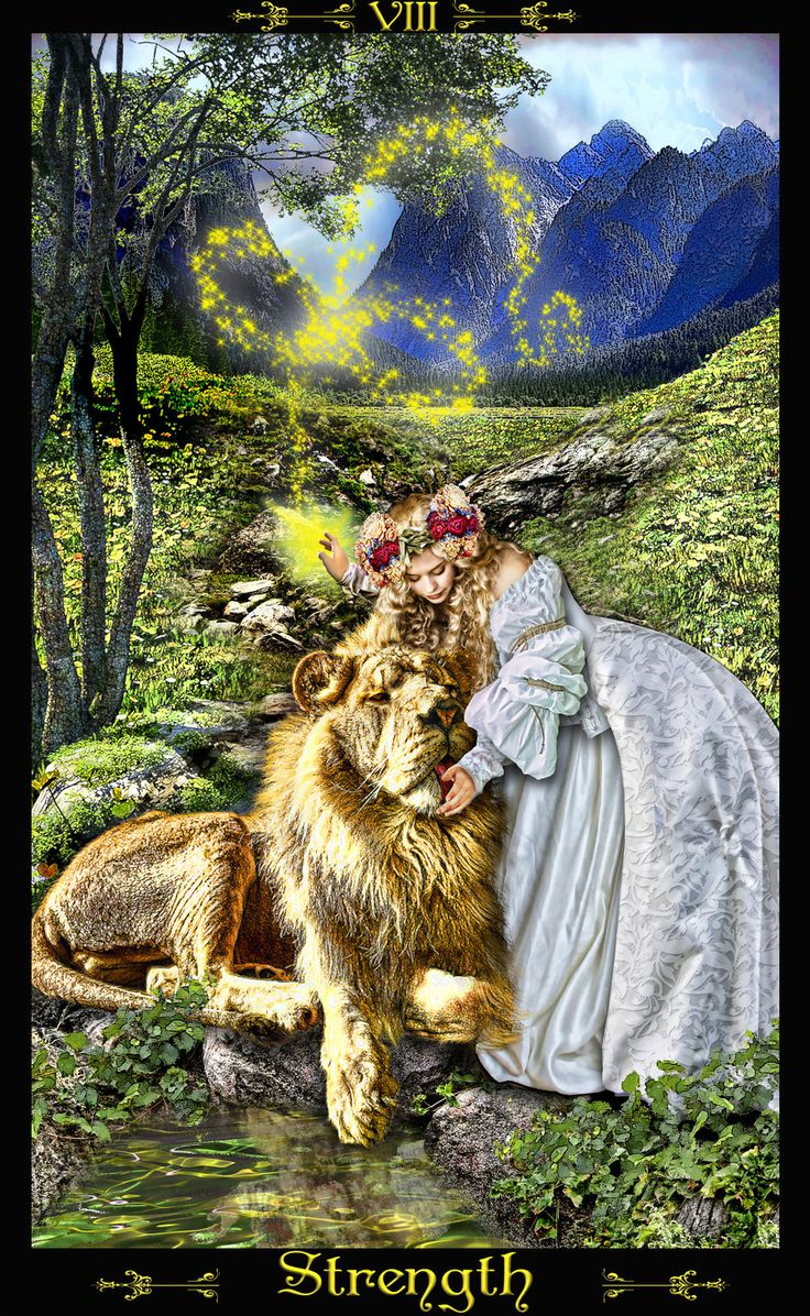 The Strength Tarot Card: 100+ Ideas To Try About Strength / Fortitude (Tarot Card