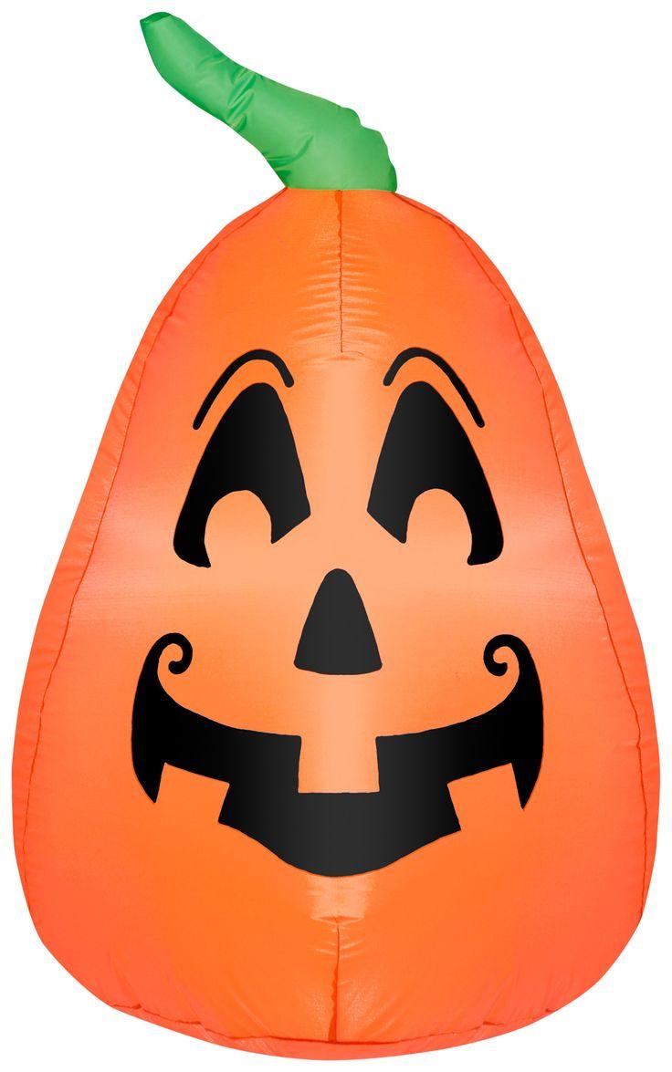Gemmy inflatable airblown reindeer outdoor christmas decoration lowe - 42 Airblown Outdoor Pumpkin Halloween Inflatable