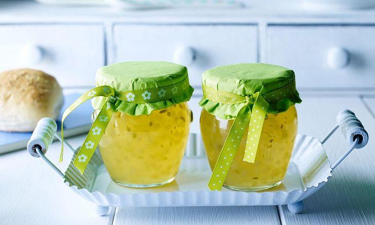 Birnen-Gelee mit Stückchen Rezept | Dr.Oetker