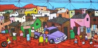 Image result for township art by artist