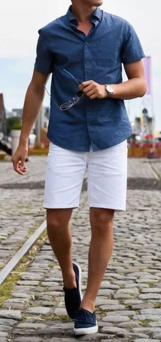 Sommer Outfit Ideen für Männer (17 Looks) #summerstyle #mensfashion #mensoutfitscas