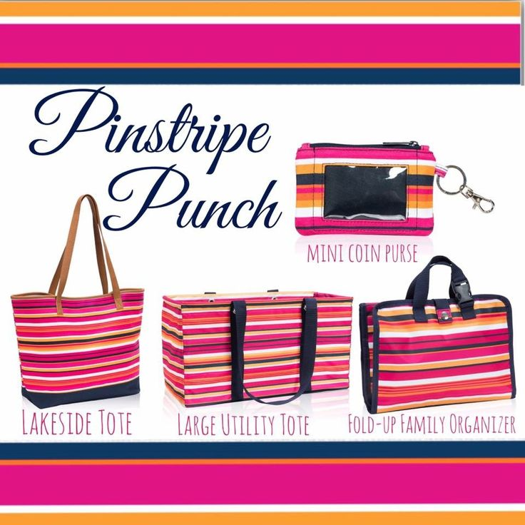 Pinstripe punch, summer style, summer 2017 thirtyone, thirty-one gifts