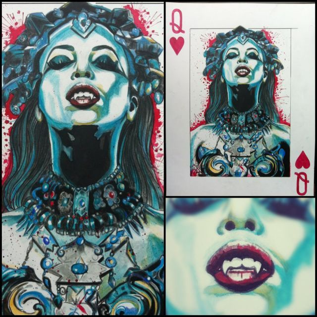 queen of the damned - Jluv - Artwork - Tattoo Gallery - Ink Trails Tattoo Forum