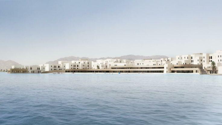 Beach Terraces - Aqaba / Jordan #architecture #designer #ramizayoub @ramizayoub @nisreen_alfar @symbiosisdesigns #architecture #architect #beach #beachterraces #terrace #seafront #beachterraces #jordan #architect #architecturaldesign #light #courts #interior-design
