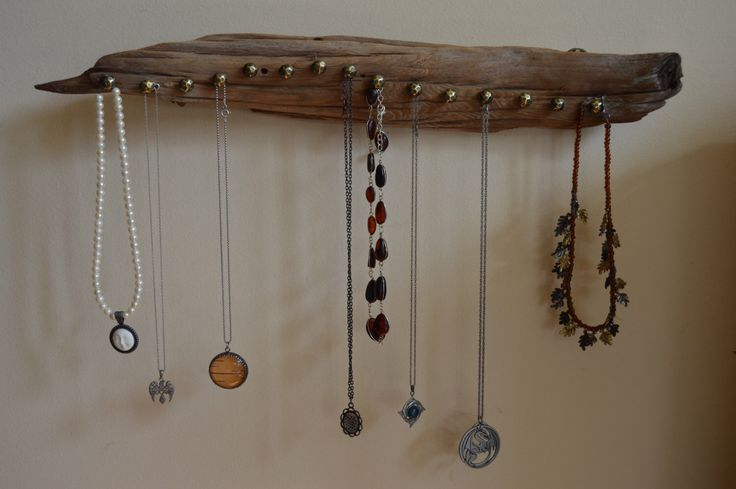 Driftwood Jewelry Organizer by EclecticEarthworks on Etsy https://www.etsy.com/listing/227154944/driftwood-jewelry-organizer