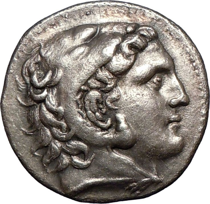 Tetradrachm from Amphipolis, Macedonia, 3rd century BC, showing Alexander the Great.