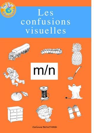 Les confusions visuelles : m - Educaland.com Plus de 60 fiches photocopiables !