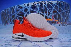 f575b644e653a Nike Lebron 15 Low University Red White Black AO1756 601 Men s Basketball  Shoes James Trainers