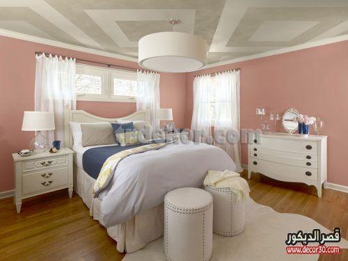 اصباغ غرف نوم بالصور احدث دهانات جدران غرف نوم مودرن قصر الديكور Bedroom Wall Colors Best Bedroom Colors Bedroom Design