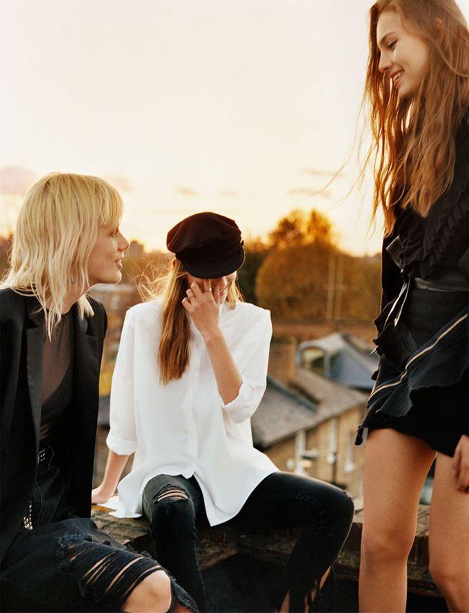 Фотосессия для Zara (Интернет-журнал ETODAY)