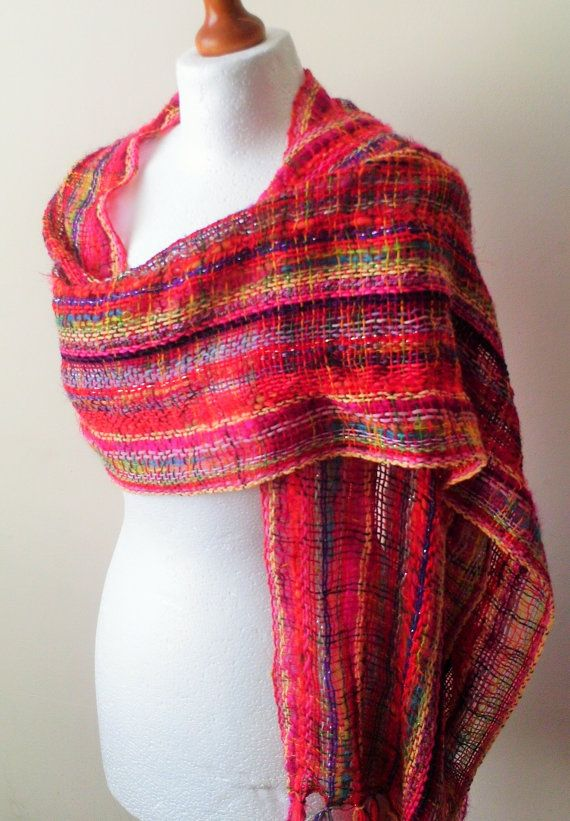 Hey, I found this really awesome Etsy listing at https://www.etsy.com/listing/232111666/vibrant-handwoven-scarfshawl-woven-scarf
