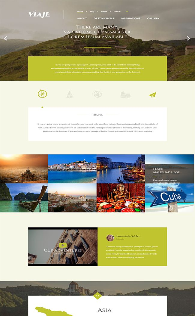 Viaje Responsive WordPress Theme