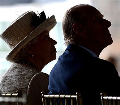 The Queen and The Duke of Edinburgh at Leeds Arena