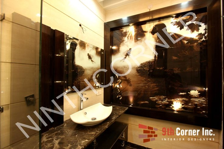 Transform your bathroom into an area of luxury with stylish interiors and classy ambiance. Get inspiration, Visit http://www.ninthcorner.com