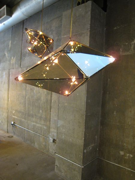 Lighting by Bec Brittain at 22 Bond  NYC design week