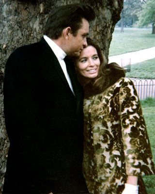 Johnny Cash & June Carter. A true love story. They loved each other, warts and all.