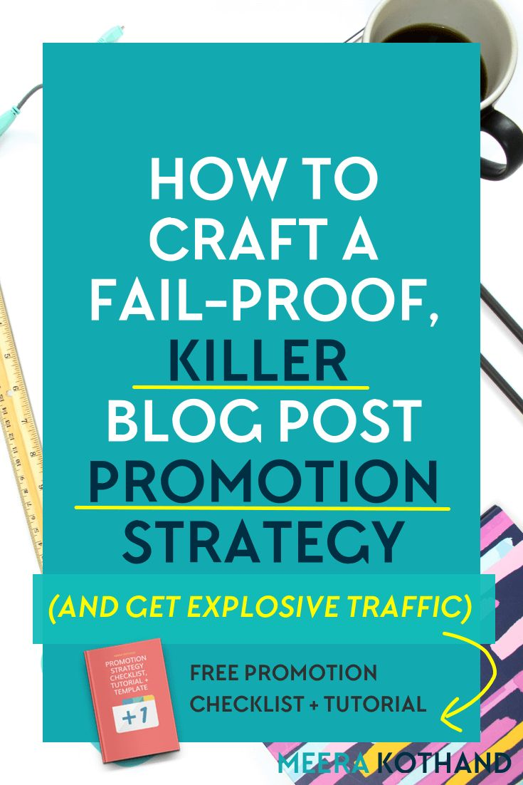 Are you wondering why you hardly get any shares and comments? Are you looking for tips on how to promote your blog posts to get more shares? The problem could lie with not having a blog post promotion strategy. You're simply not getting sufficient eyeballs on your content. In this post I give you ideas on how to craft your own promotion strategy and grab the cheat sheet to help with it! via @meerakothand