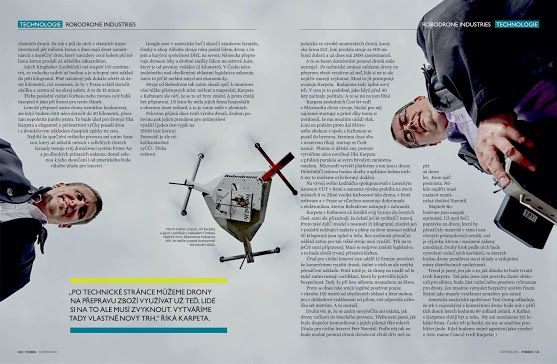 #Robodrone in Forbes magazine (CZ), the 2nd part of the article ;-)