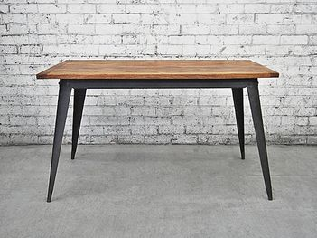 Retro Style Kitchen Table | Industrial Dining Table
