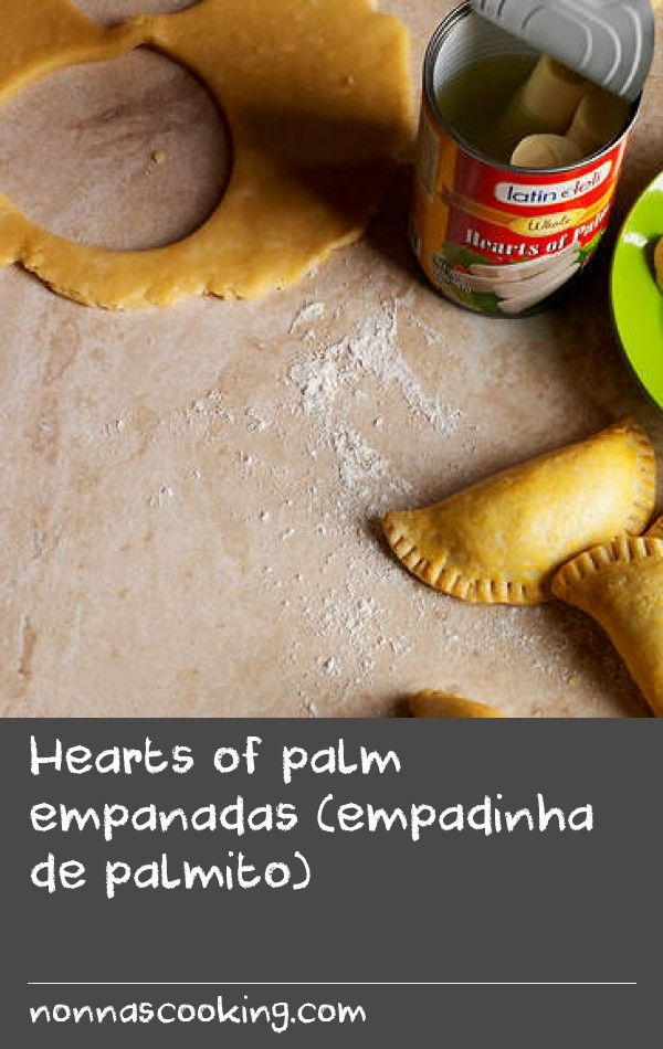 Hearts of palm empanadas (empadinha de palmito)   Once you've got the knack of making the dough and assembling these savoury Brazilian pastries, it's easy to adapt the filling to suit and even experiment with different shapes and sizes. The filling in this recipe calls for palm hearts but you could easily use marinated artichoke hearts instead. Empanadas are perfect for picnics since they're just as good at room temperature as they are straight from the oven. You can also freeze them after…
