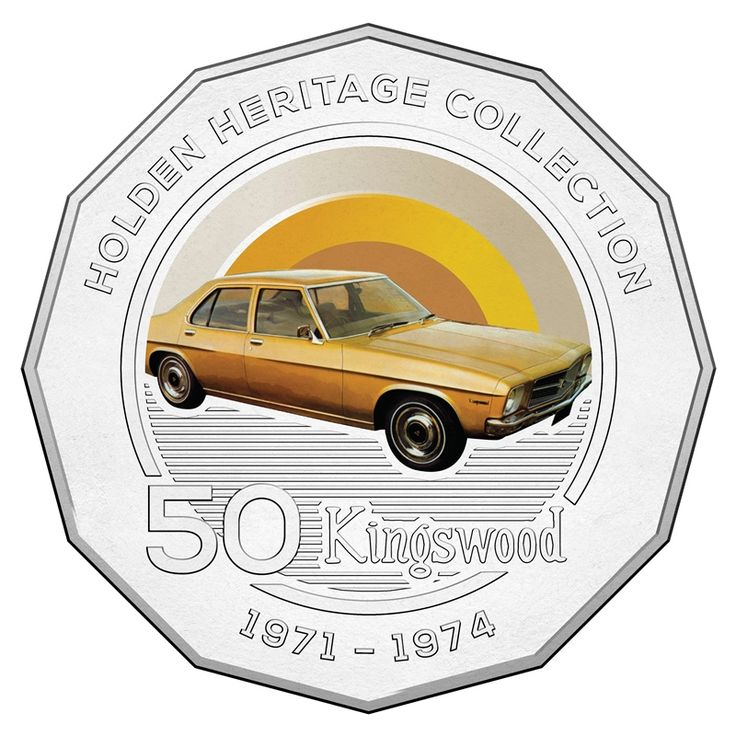 50c 2016 Holden Heritage Collection - Kingswood reverse