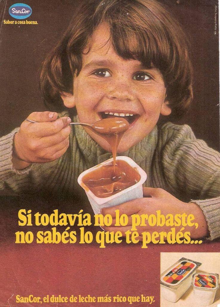 SAN COR, década del 70. Modelo: Marcelo Marcote.