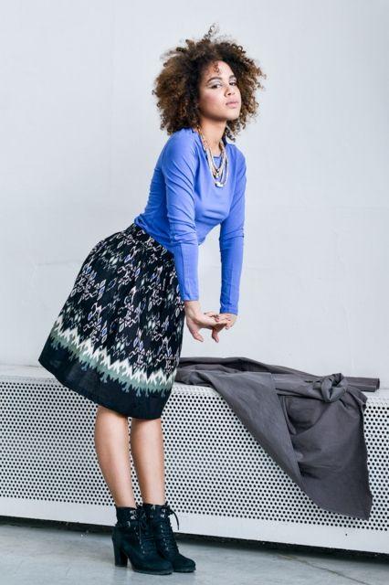 Spódnica Bombka Sumba | www.kokoworld.pl #kokoworld #skirt #africa #handmade #fairtrade