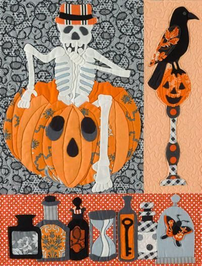 Image result for halloween quilts