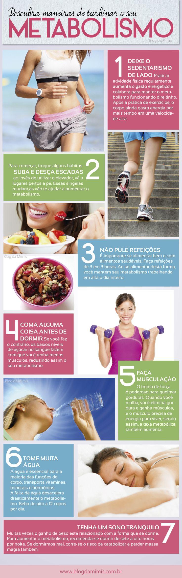 Maneiras de turbinar o metabolismo