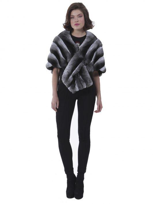 Fur Fashion - NATURAL CHINCHILLA ETOL #chinchilla #etol #woman #luxury #style #streetstyle #musthave #buy #online #furs #fur #fashion