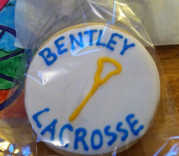 Groom played lacrosse. At York College