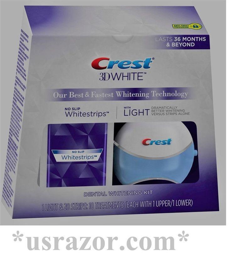 Whitening: Crest 3D Whitestrips With 1 Light 10 Treatment White Strips Dental Whitening Kit -> BUY IT NOW ONLY: $48.99 on eBay! http://reviewscircle.com/Teeth-Whitening-4-You