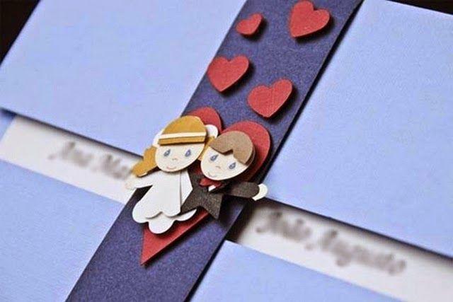Convites de casamento criativos #2 - Tudo combinado