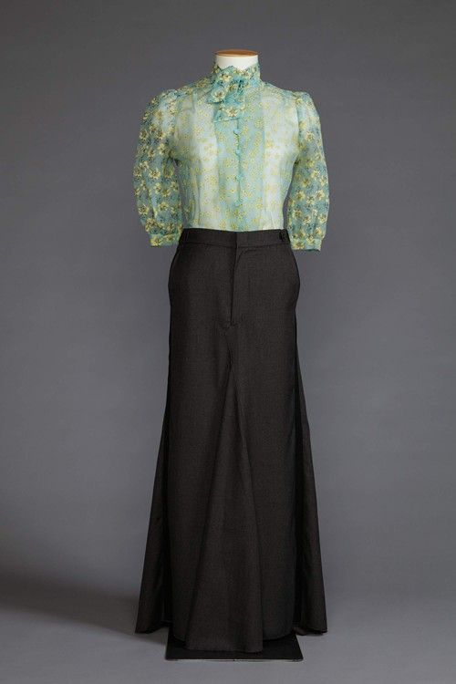 Blouse and skirt by Margarita Robertson