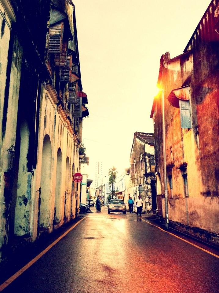 Old town Penang