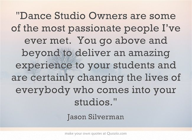 26 best dance studio marketing images on pinterest dance ballet dance studio owners are some of the most passionate people ive ever met malvernweather Gallery