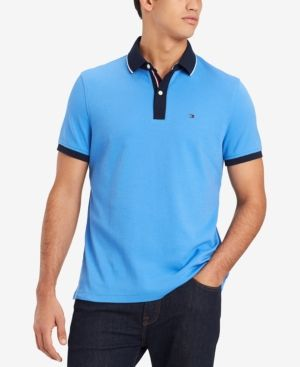 57999e39 TOMMY HILFIGER MEN'S CLASSIC FIT JOSHUA POLO, CREATED FOR MACY'S. # tommyhilfiger #cloth