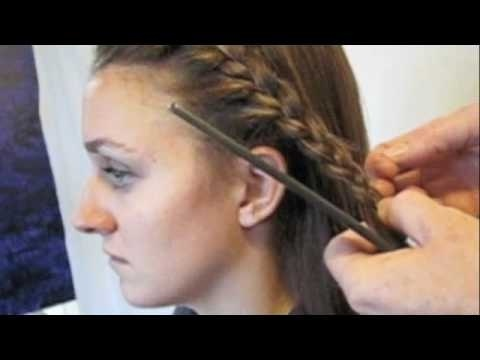 How to French Braid your Bangs hairstyles