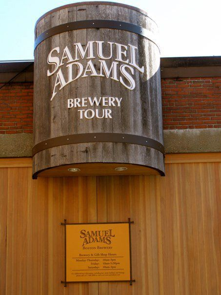 Take A Tour while in Boston! Sam Adams Brewery Tour, Boston #bostonusa