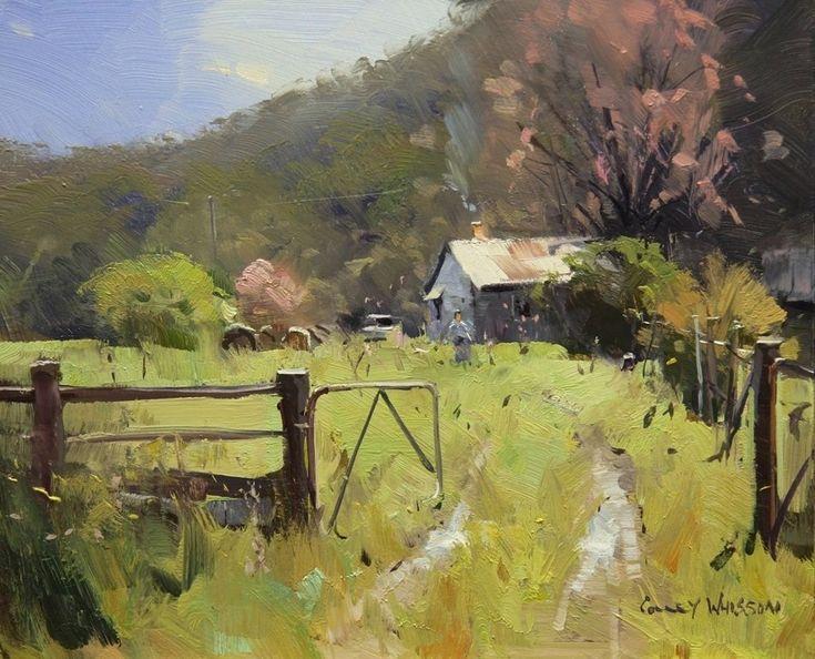 Colley Whisson Kiewa Valley, Victoria Oil