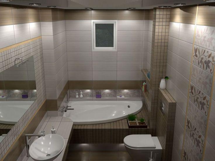 Πλακάκια μπάνιου Joy Marron 20 x 50 cm
